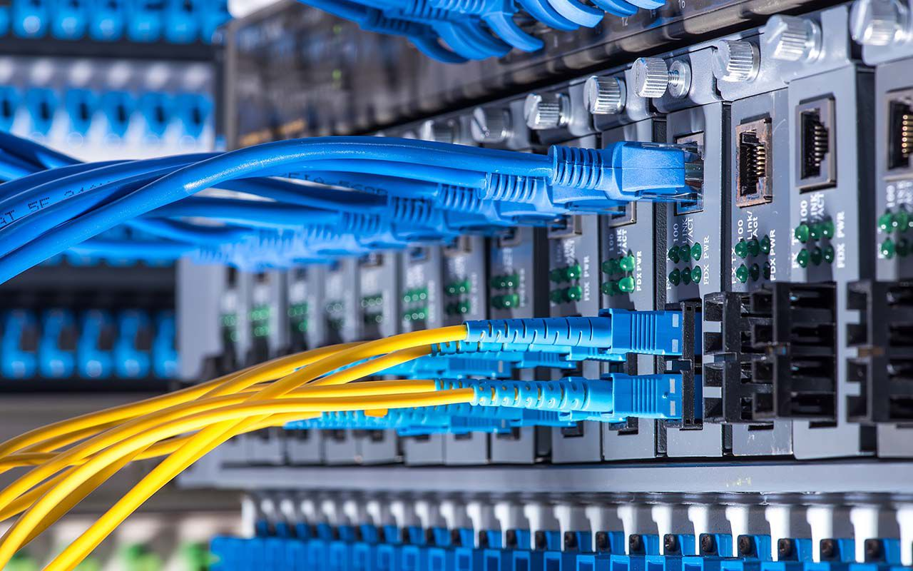 The source of your slow Internet speed could be your router/switch in your server room.
